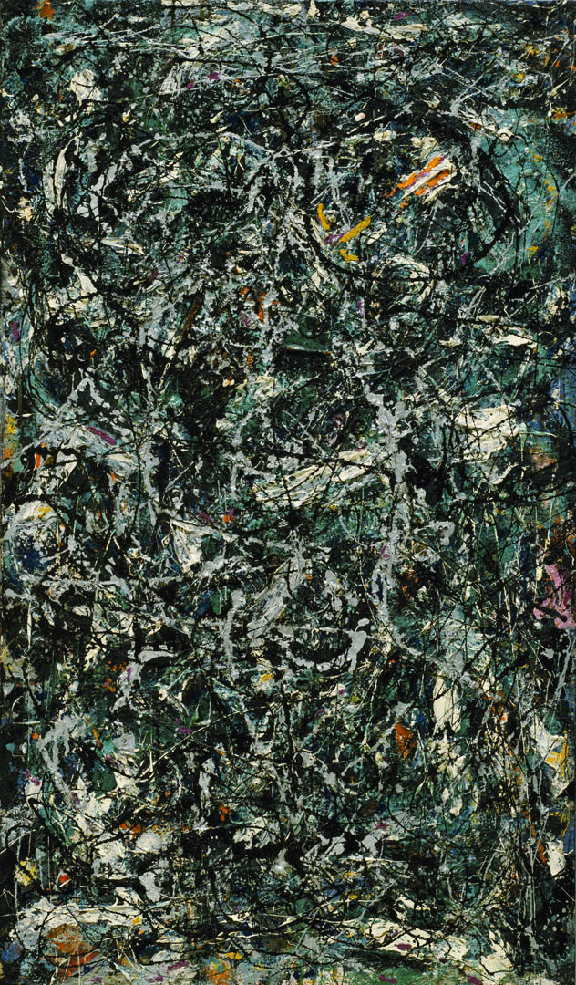 Full Fathom Five A Abstract Expressionist Jackson Pollock Art