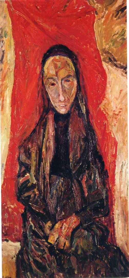 Portrait Of Woman The Widow