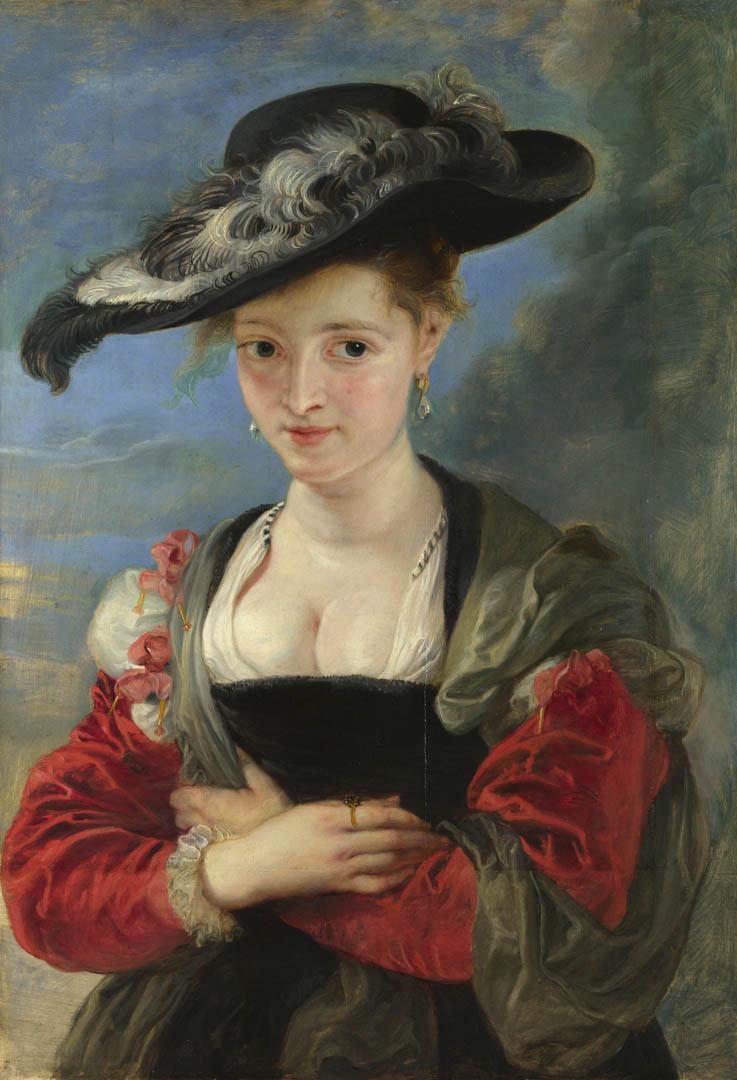 Portrait Of Susanna Lunden Le Chapeau De Paille