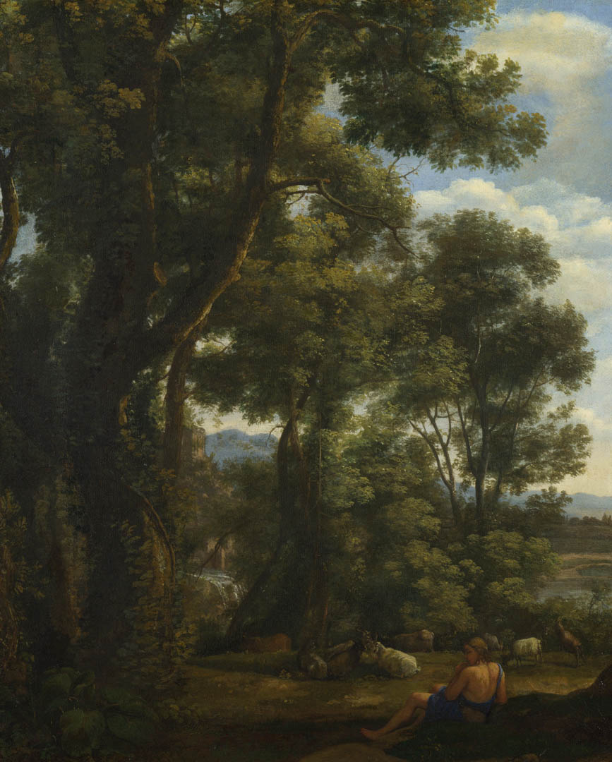 Claude Landscape With A Goatherd And Goats