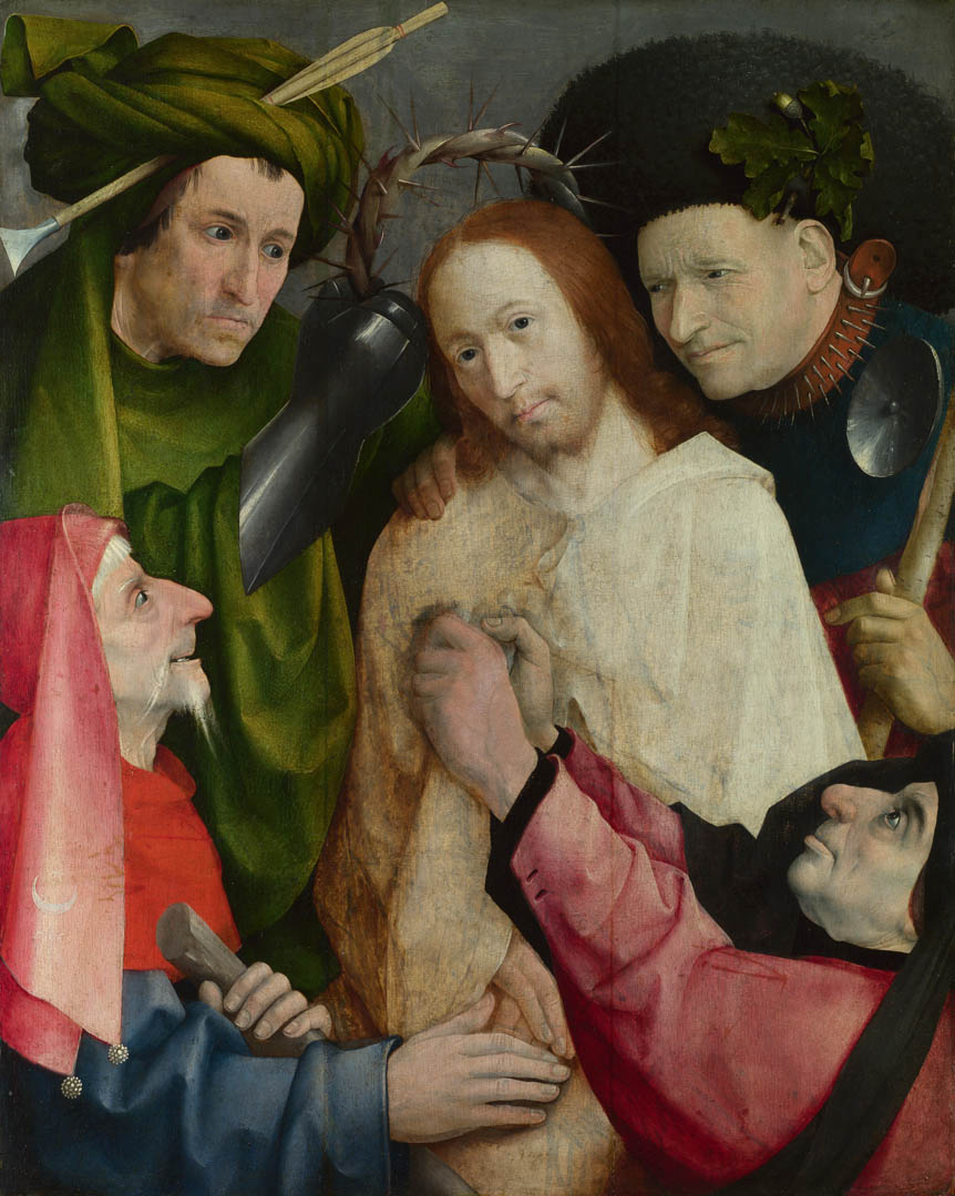 Hieronymus Bosch Christ Mocked The Crowning With Thorns