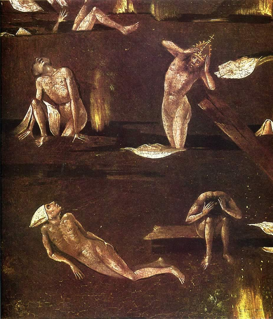 Hellish Suffering - Gothic Hieronymus Bosch Art Wallpaper ...