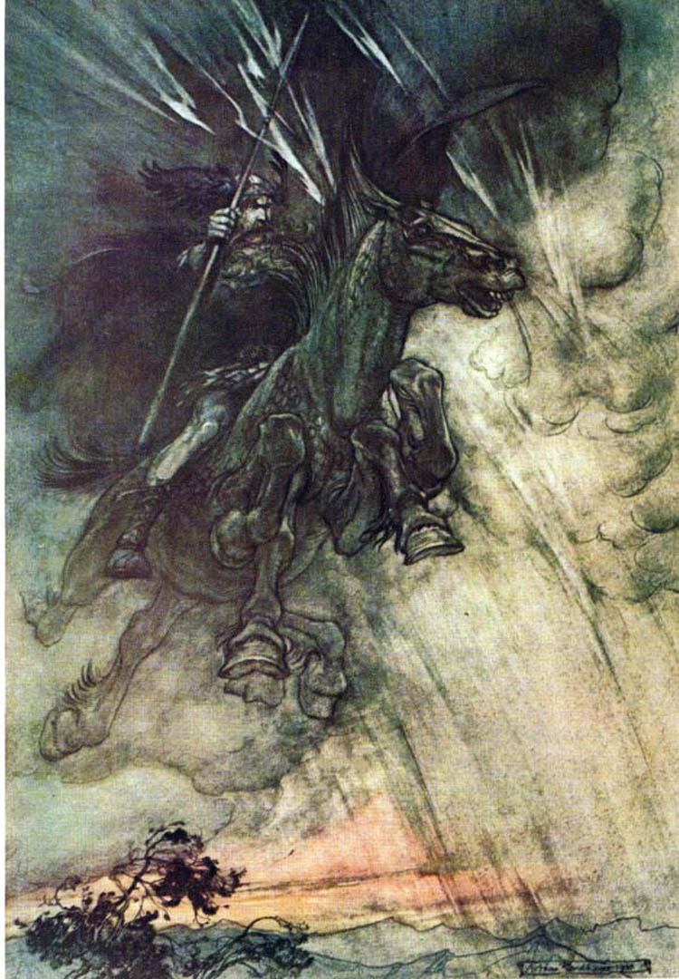 Wagner Ring Of The Nibelung Rackham
