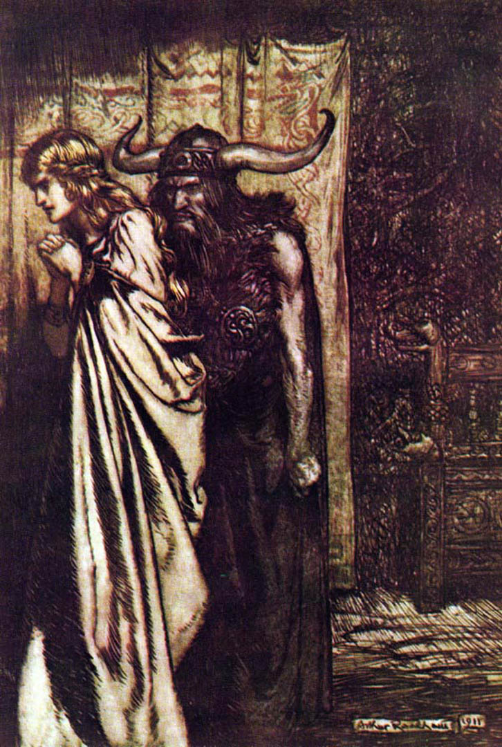 The Ring Of The Nibelung Arthur Rackham