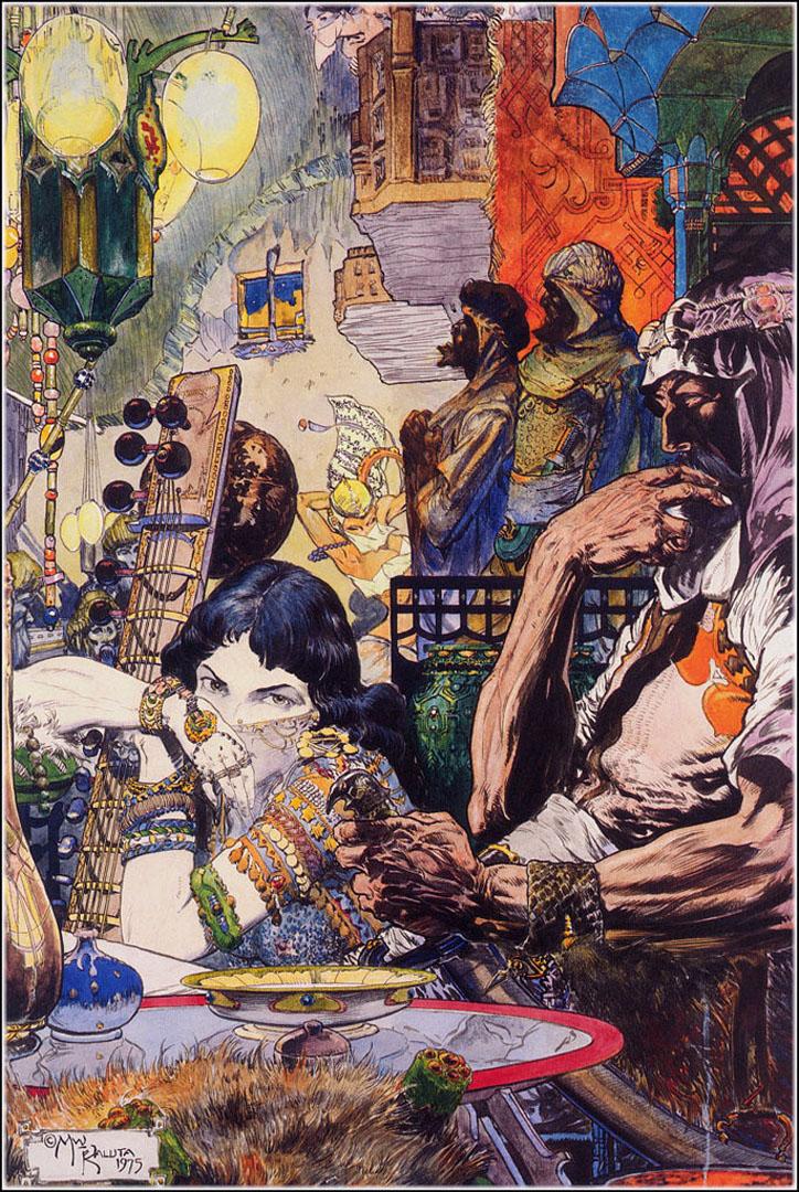 Ayisha A Illustration Enki Bilal Art Wallpaper