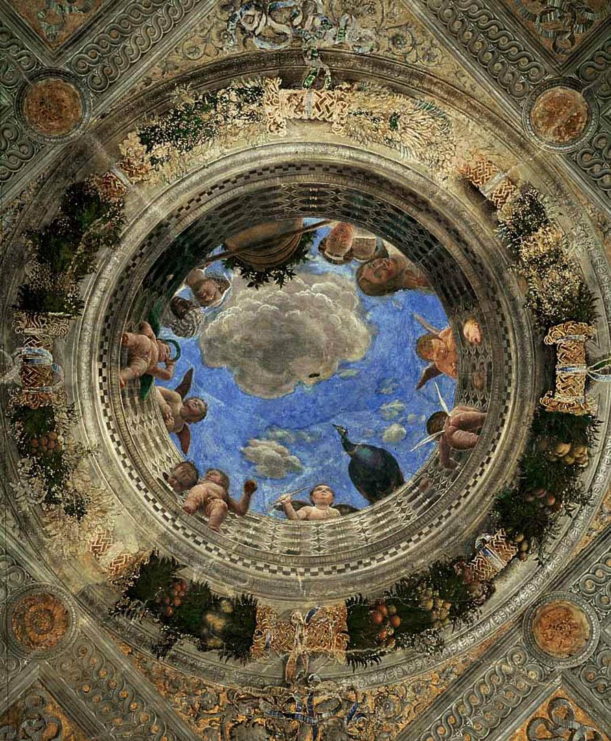 Ceiling Oculus Italian Renaissance Andrea Mantegna Art