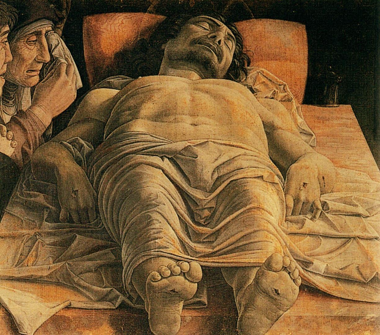 the dead christ italian renaissance andrea mantegna art