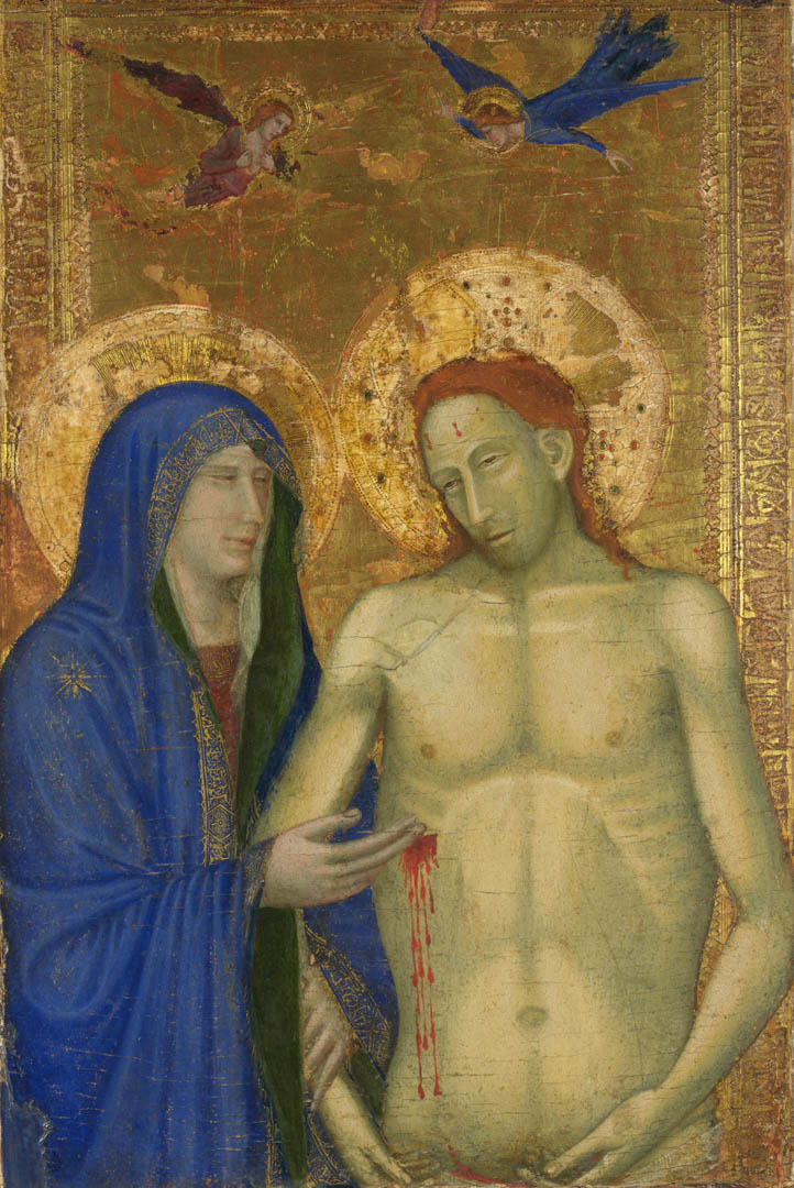 The Dead Christ And The Virgin 1