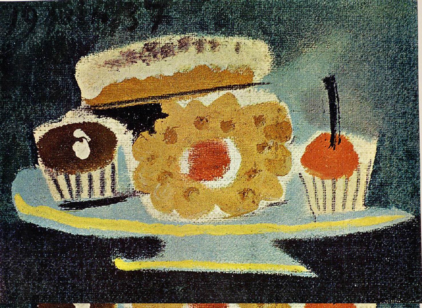 Still Life Of Cakes