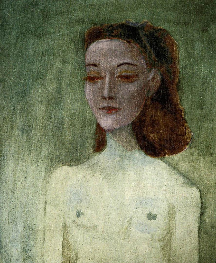 Portrait Dnusch Eluard