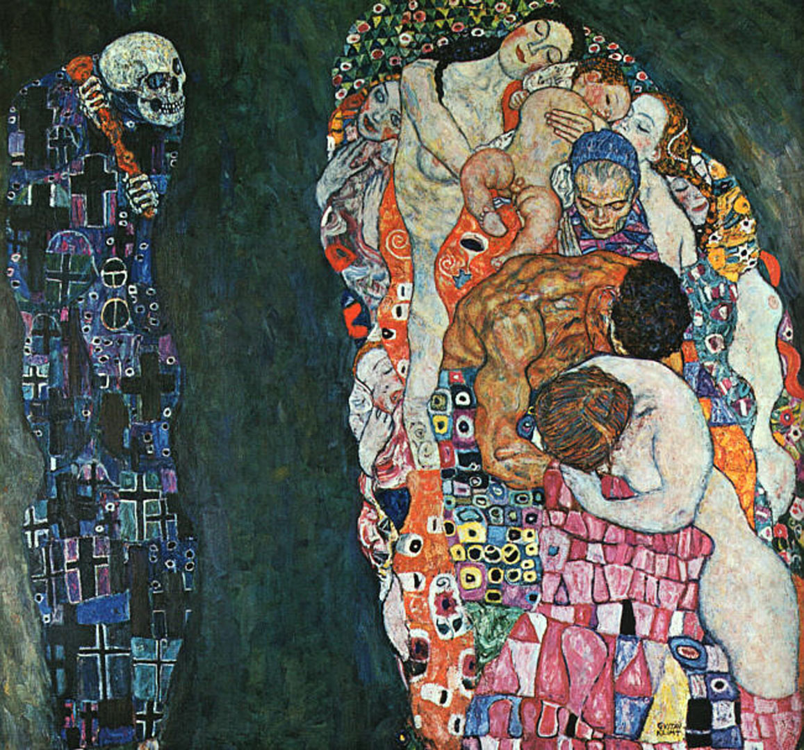 Death And Life Painted Before 1911 And Revised 1915