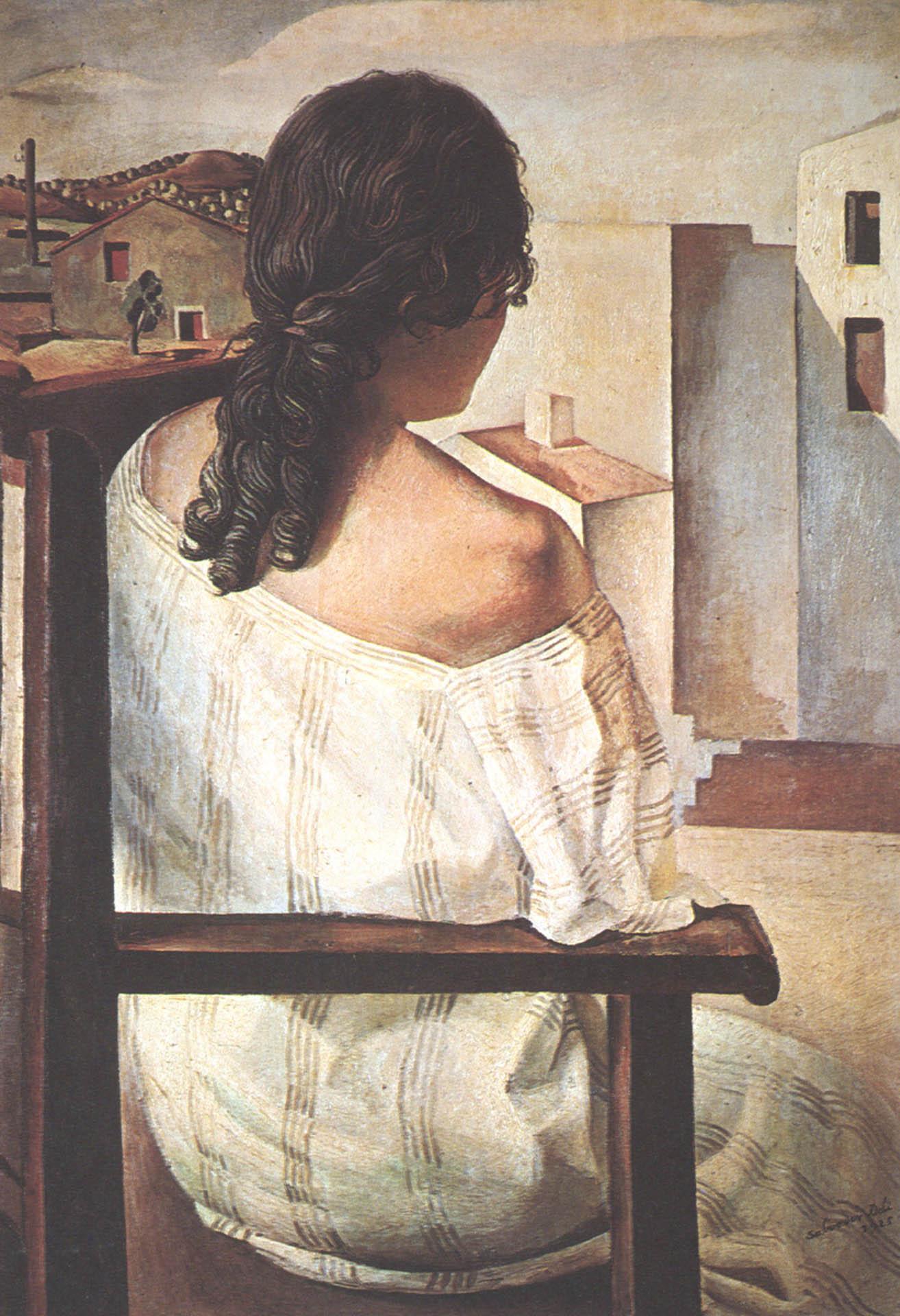 Фото молодой девушки со спины 1 фотография