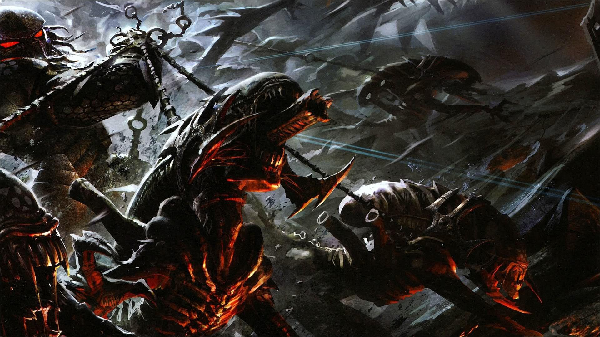 Alien Horde Descending