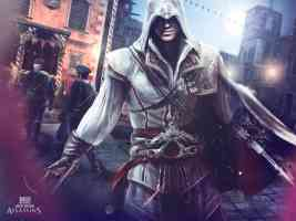 altair walking the streets