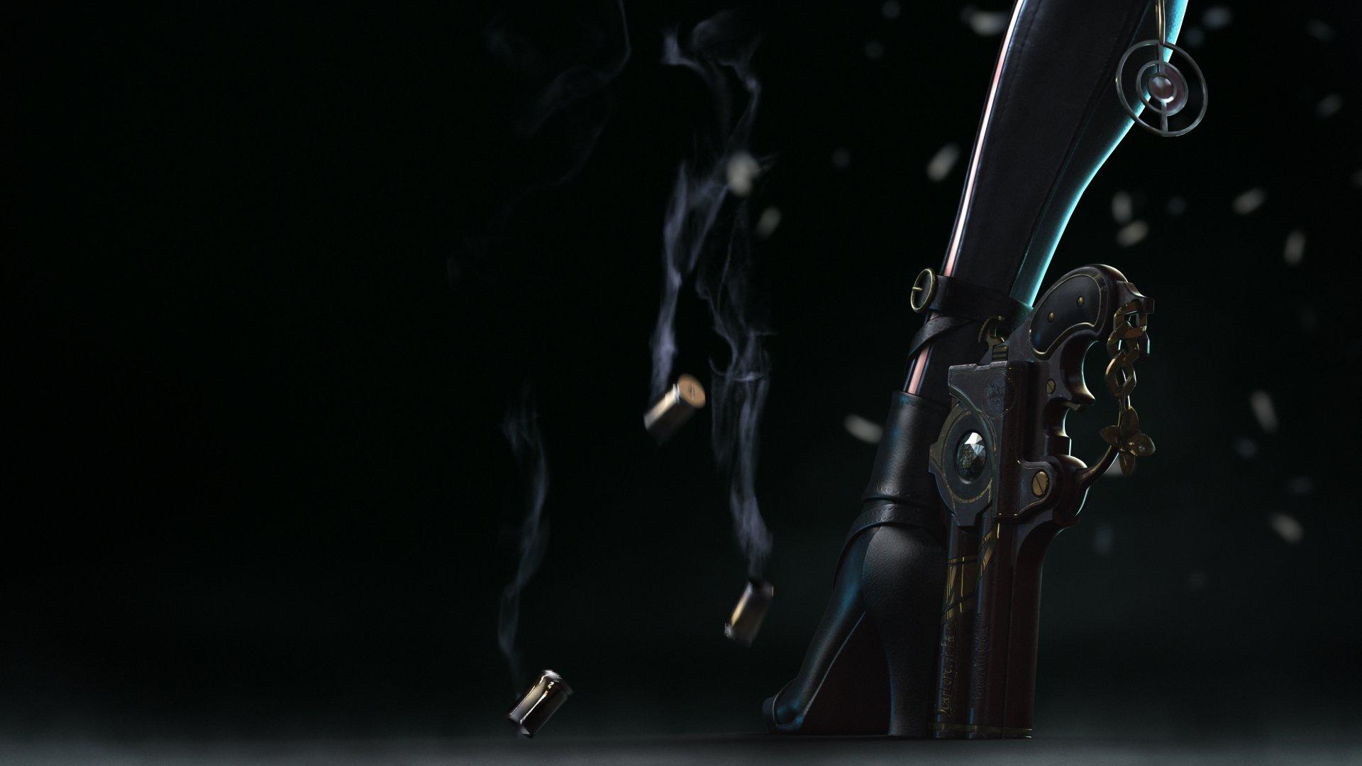 Heel Gun And Smoking Bullets