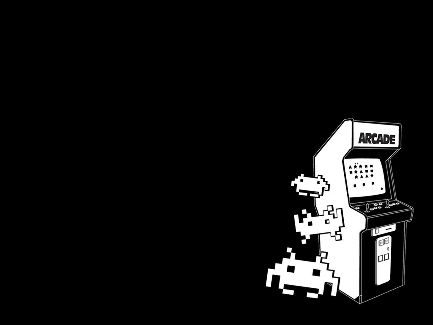 Space Invaders Minimal Cabinet