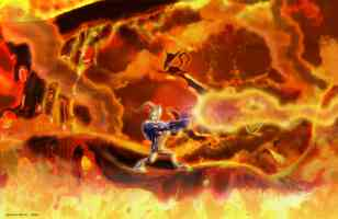 flaming earthworm jim