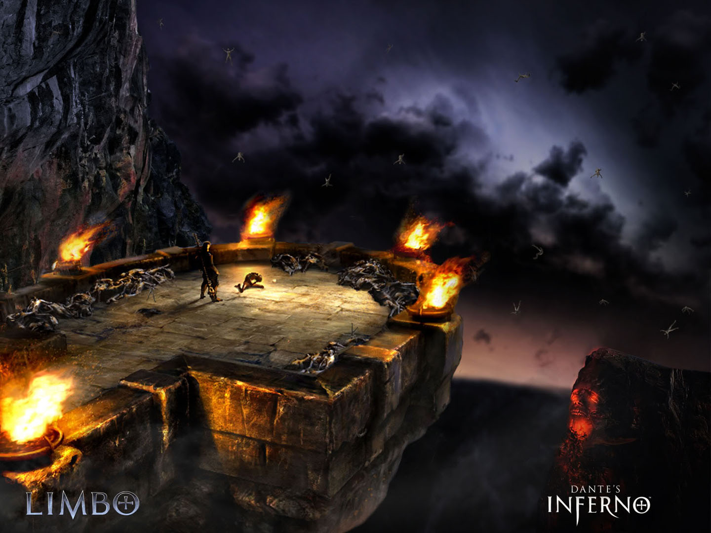 """dantes inferno action games picture entitled """" limbo """"."""