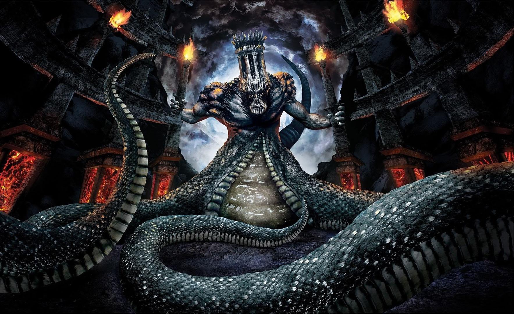 Snake Devil Boss