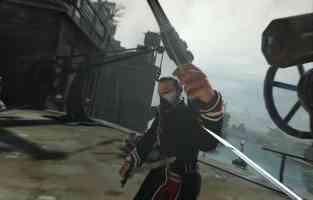 gun and sword combat