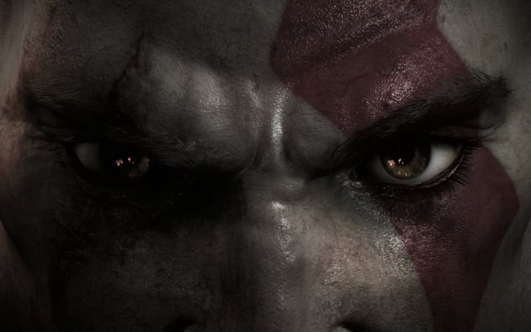 Kratos Eyes And Stare