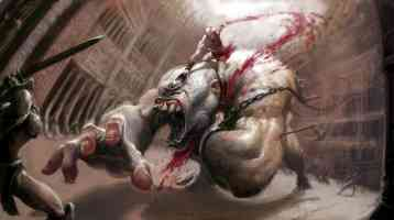 kratos fighting cyclops