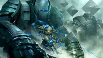 asura with army of golems