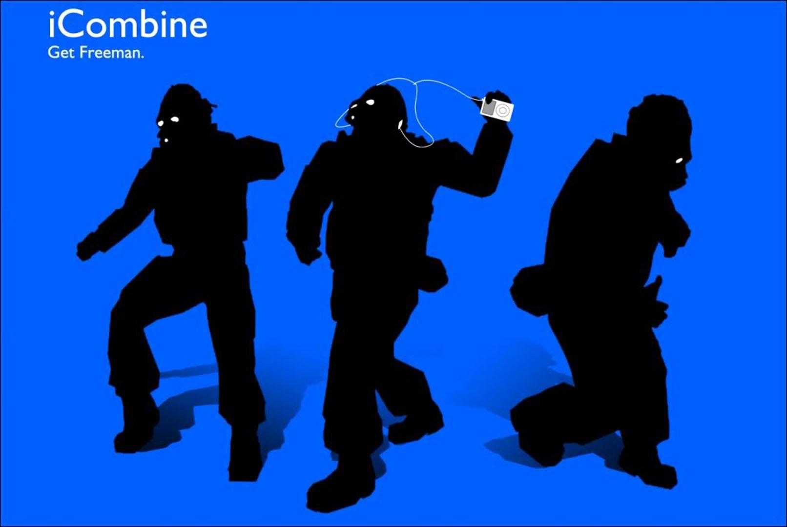 Icombine Get Freeman - Half Life 2 Wallpaper