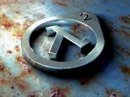 metallic keyring logo