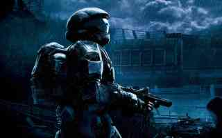 master chief on patrol