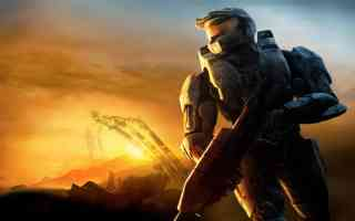 master chief sunset