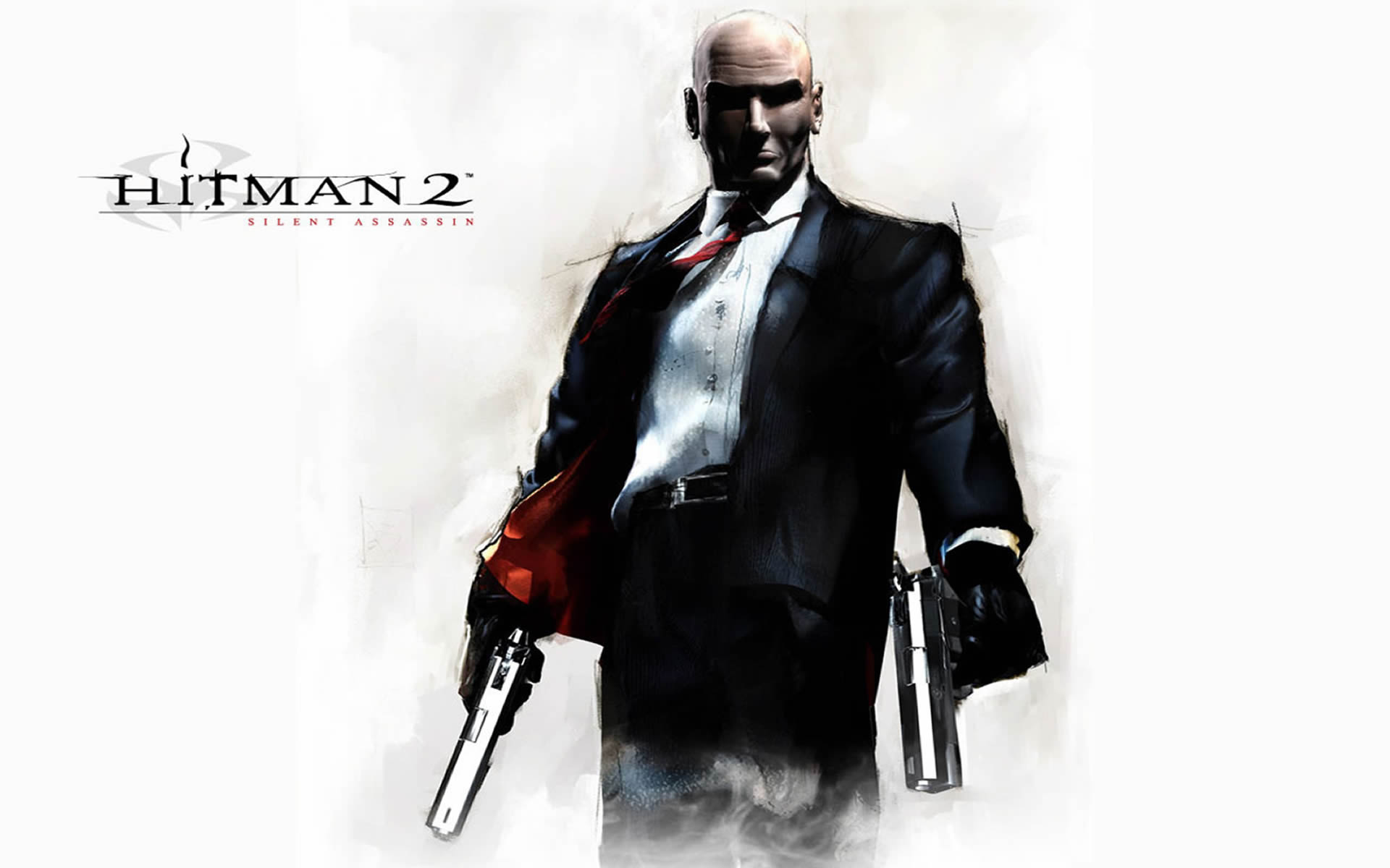 Agent 47 With Dual Pistols
