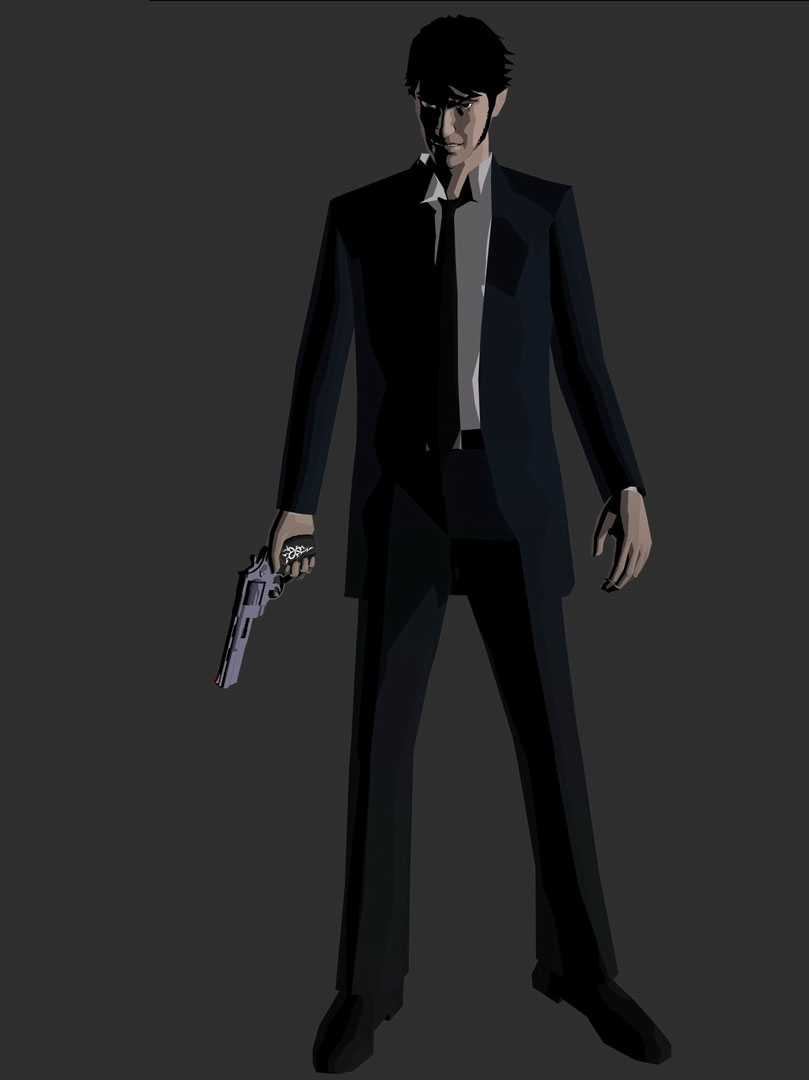 Suit And Gun