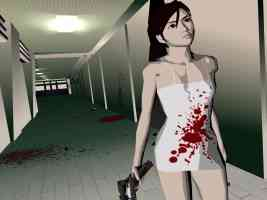 kaede smith covered in blood