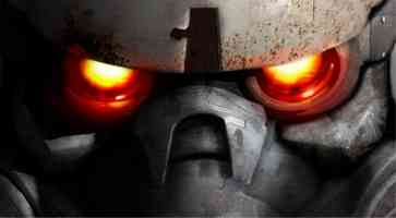 burning eyes of a helghast
