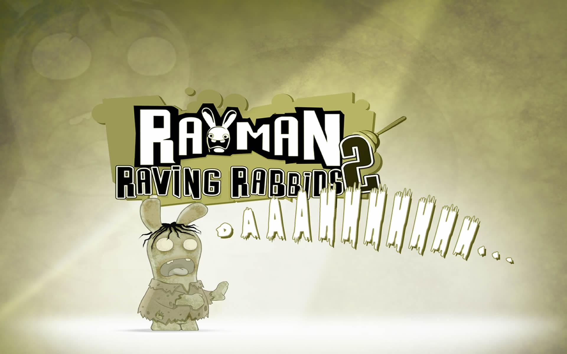zombie - rayman raving rabbids wallpaper