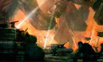 tanks and giant robots