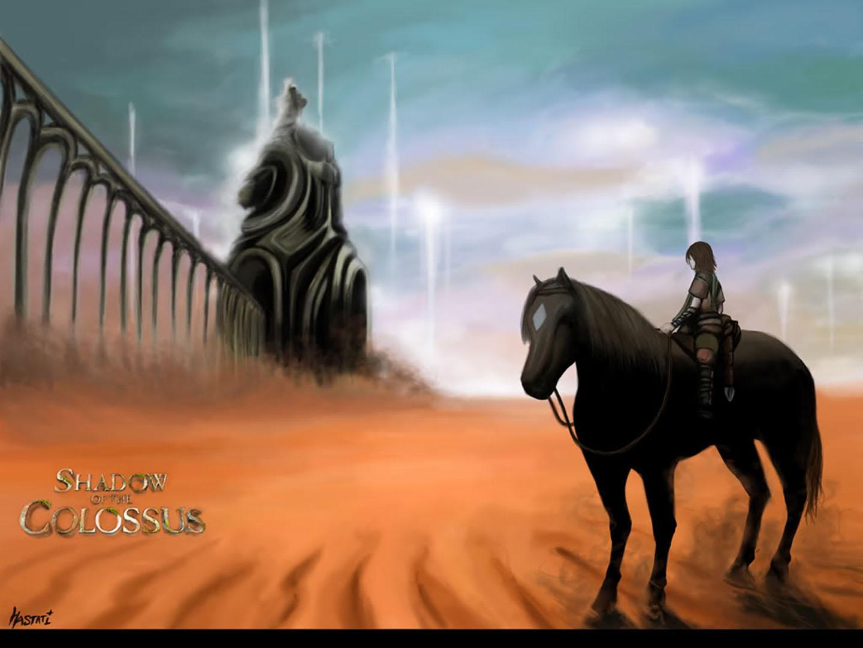 Wander In The Desert On Horseback