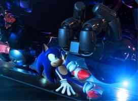 sonic in space
