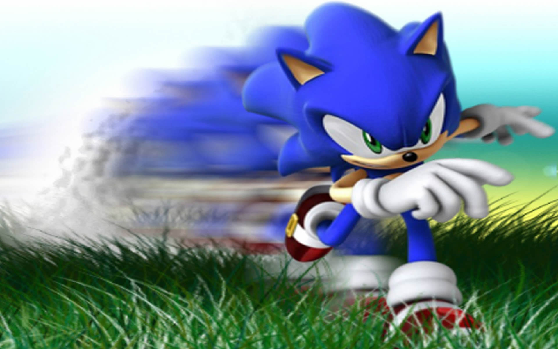 Zoom Sonic The Hedgehog Wallpaper
