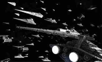 empire spaceship battle fleet