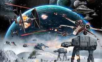 star wars combate vehicles