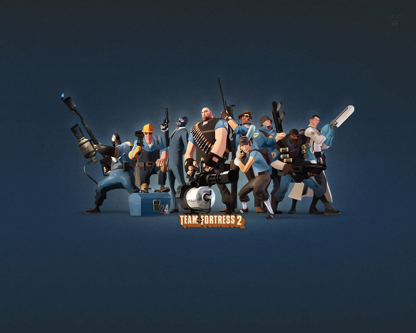 Blue Team Team Fortress 2 Wallpaper HD Wallpapers Download Free Images Wallpaper [1000image.com]