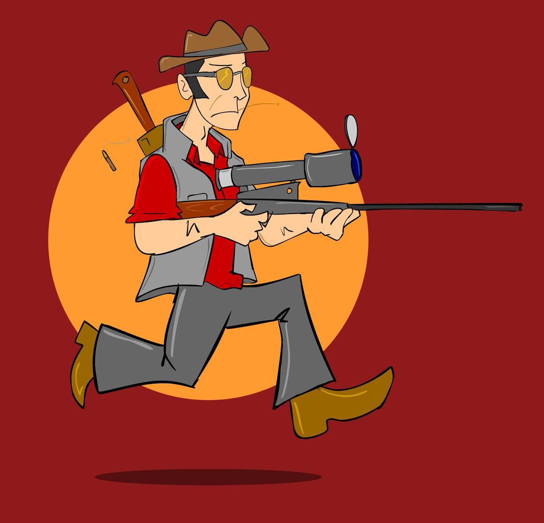 Cartoon Sniper