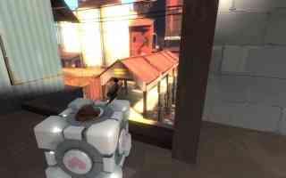 portal cube sniper