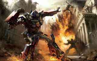 optimus prime fighting the decepticons