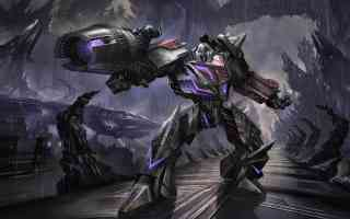 decepticon in the rain