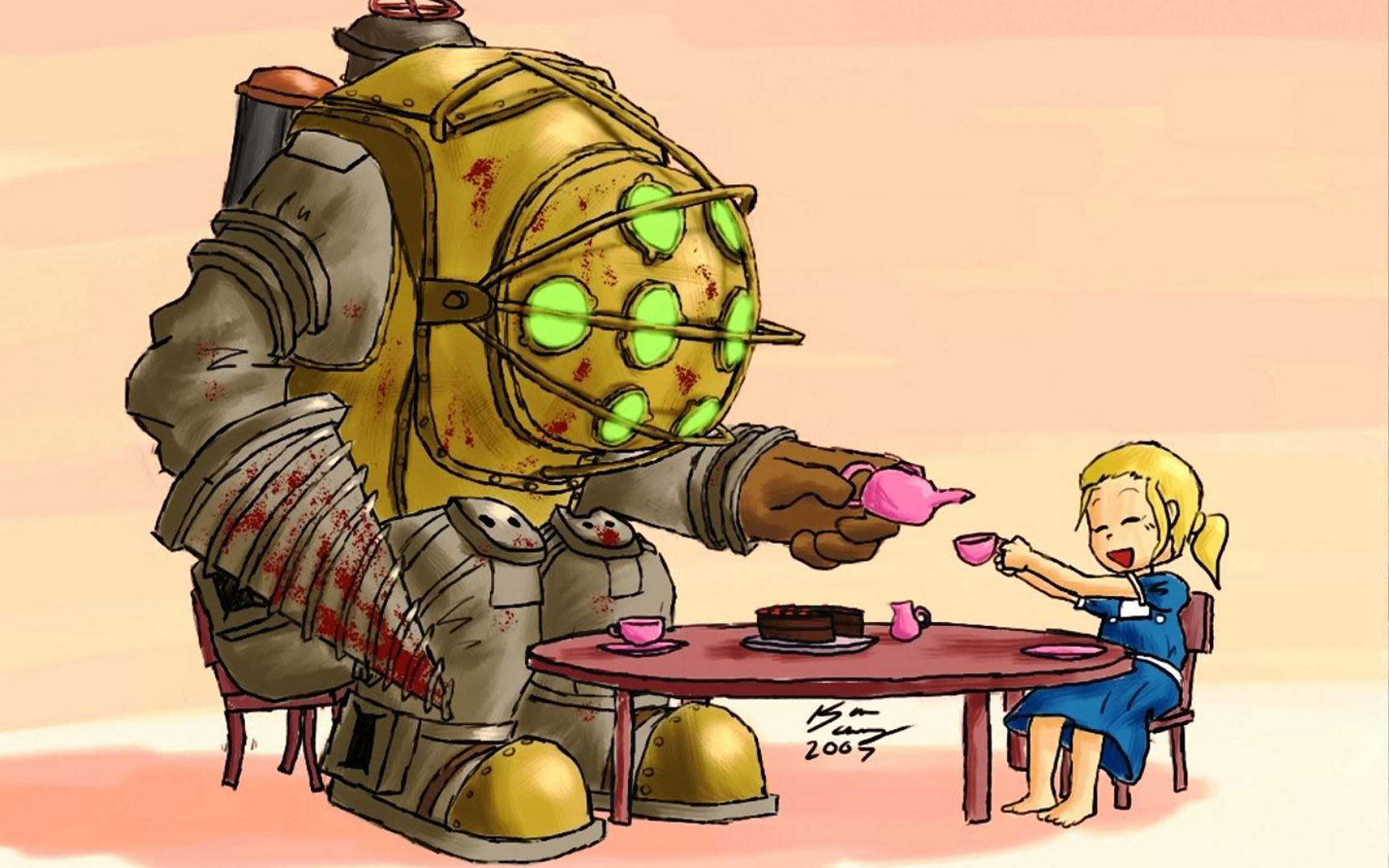Bioshock Tea Party