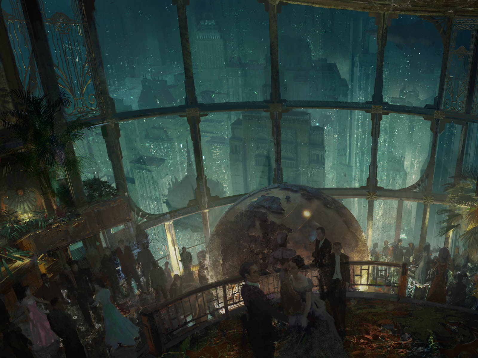Previous Bioshock 2 Wallpaper Dinner Party On Rapture