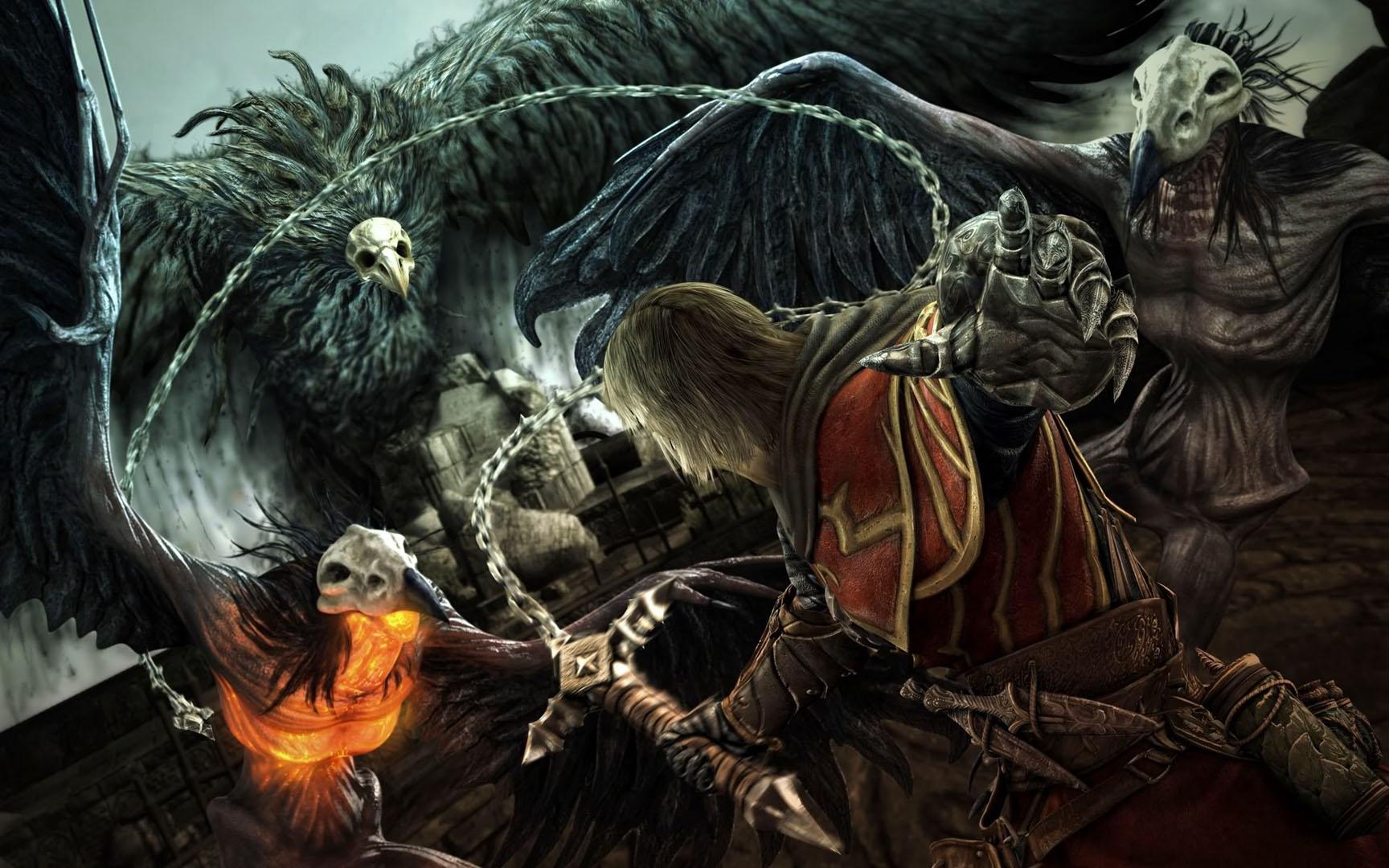Belmont Fighting Three Harpies